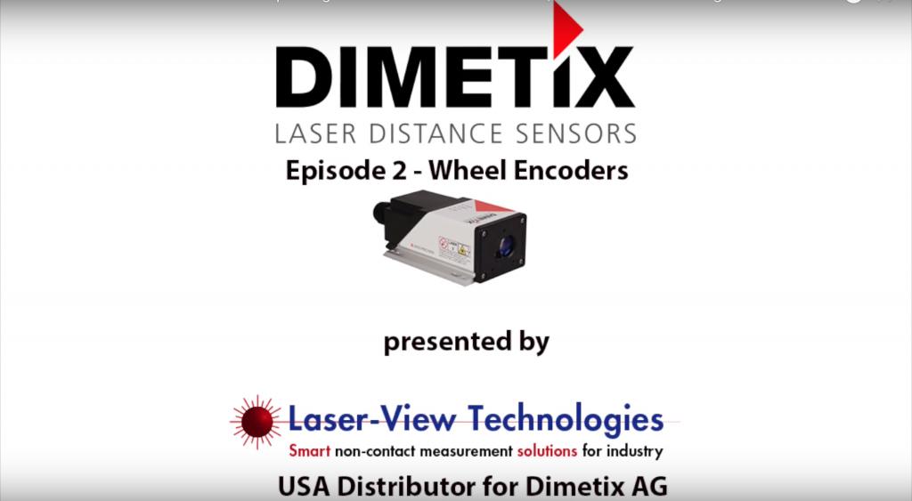 Dimetix Laser Sensors As Replacements For Wheel Encoders | Laser-View